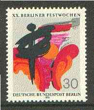 Germany - West Berlin 1970 20th Folklore Week unmounted mint SG B373*