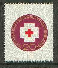 Germany - West 1963 Red Cross Centenary unmounted mint SG 1314*