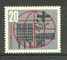 Germany - West 1963 Freedom From Hunger unmounted mint SG 1305*