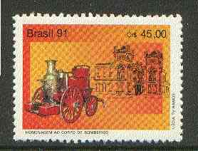 Brazil 1991 Fire Fighting unmounted mint SG 2486*