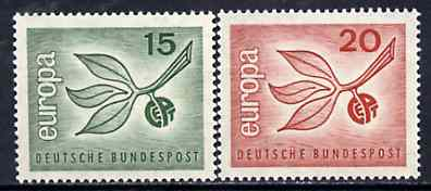 Germany - West 1965 Europa set of 2 unmounted mint SG 1404-05*
