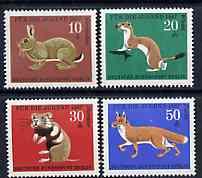 Germany - West Berlin 1967 Child Welfare (Animals) set of 4 unmounted mint, SG B293-96*