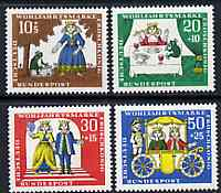 Germany - West 1966 Humanitarian Relief Funds (The Frog Prince) set of 4 unmounted mint SG 1428-31*