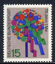 Germany - West 1965 Labour Day (Bouquet) unmounted mint SG 1396*