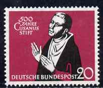 Germany - West 1958 500th Anniversary of Hospice of St Nicholas unmounted mint SG 1218*