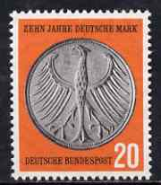 Germany - West 1958 Tenth Anniversary of Currency Reform unmounted mint SG 1209*