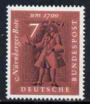 Germany - West 1961 'The Letter During 5 Centuries' Exhibition unmounted mint SG 1279