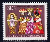 Germany - West 1972 Humanitarian Relief - Christmas (Three Wise Men) unmounted mint SG 1640*