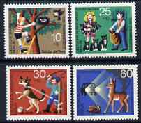 Germany - West Berlin 1972 Humanitarian Relief - Animal Protection set of 4 unmounted mint SG B414-17