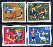 Germany - West 1972 Humanitarian Relief - Animal Protection set of 4 unmounted mint SG 1613-16