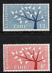 Ireland 1962 Europa set of 2 unmounted mint, SG 191-92