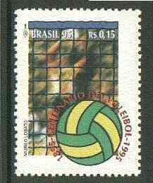 Brazil 1995 Centenary of Volleyball unmounted mint SG 2709*