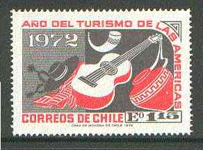Chile 1972 Folklore & Handicrafts 1E15 from Tourism Year set unmounted mint SG 702*