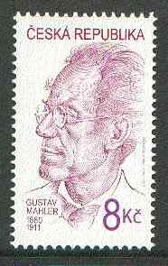 Czech Republic 2000 Gustav Mahler (Composer) Commemoration 8k unmounted mint*