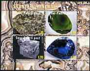 Estonia (Suur-Pakrti) 2000 Stones & Minerals #03 sheetlet containing set of 4 values unmounted mint