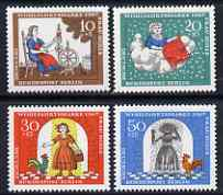 Germany - West Berlin 1967 Humanitarian Relief Funds (Frau Holle) set of 4 unmounted mint SG B304-07*