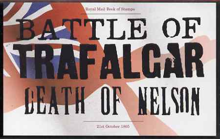 Booklet - Great Britain 2005 The Battle of Trafalgar \A37.26 Prestige booklet complete and very fine, SG DX35