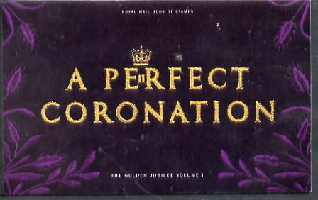 Booklet - Great Britain 2003 A Perfect Coronation \A37.46 Prestige booklet complete and very fine, SG DX31