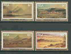 South Africa 1975 Death Centenary of Thomas Baines (painter) set of 4 mounted mint, SG 379-82*