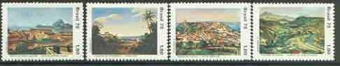 Brazil 1978 Landscape Paintings set of 4, unmounted mint, SG 1742-45*