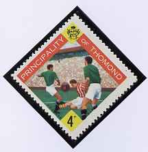 Thomond 1960 Football 4d (Diamond shaped) def unmounted mint*