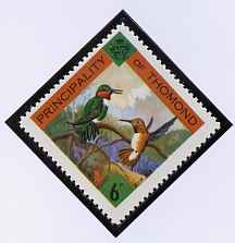 Thomond 1960 Humming Birds 6d (Diamond-shaped) def unmounted mint*