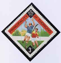 Thomond 1960 Hurling 3d (Diamond-shaped) def unmounted mint*