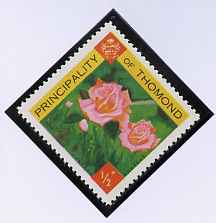Thomond 1960 Roses 1/2p (Diamond shaped) def unmounted mint*
