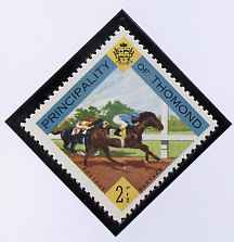 Thomond 1960 Horse Racing 2.5d (Diamond-shaped) def unmounted mint*