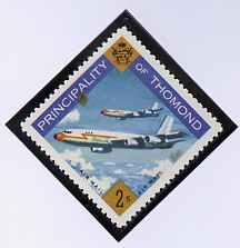 Thomond 1960 Jet Liner 2s (Diamond shaped) def unmounted mint*