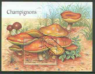 Togo 2000 Fungi perf m/sheet very fine cto used