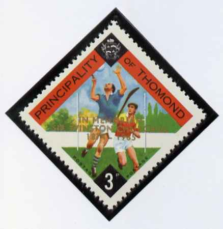 Thomond 1965 Hurling 3d (Diamond-shaped) with