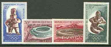 Dahomey 1968 Mexico Olympic Games set of 4 unmounted mint, SG 343-46*