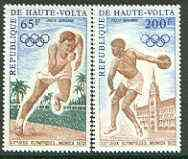 Upper Volta 1972 Munich Olympic Games set of 2 unmounted mint, SG 363-64*