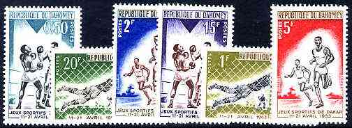 Dahomey 1963 Dakar Games set of 6 unmounted mint, SG 185-90*