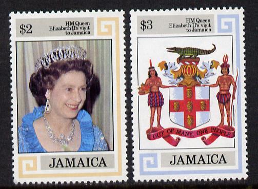 Jamaica 1983 Royal Visit set of 2 unmounted mint, SG 573-74