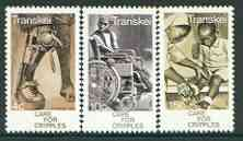 Transkei 1978 Care of Cripples set of 3 unmounted mint, SG 45-47