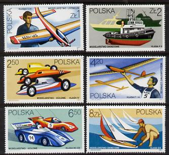 Poland 1981 Model Making set of 6 unmounted mint (SG 2764-9)*