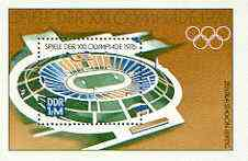 Germany - East 1976 Montreal Olympic Games m/sheet unmounted mint, SG MS E1847
