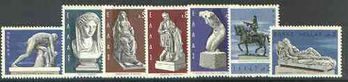 Greece 1967 Greek Sculpture set of 7 unmounted mint SG 1038-44*