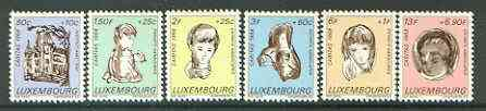 Luxembourg 1968 National Welfare Fund (Handicapped Children) set of 6 unmounted mint, SG 829-34*