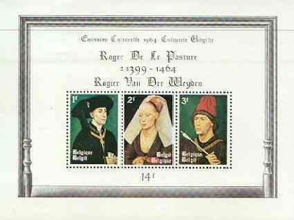 Belgium 1964 Cultural Fund perf m/sheet unmounted mint, SG MS 1903