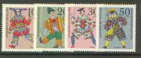 Germany - West 1970 Humanitarian Relief Funds (Puppets) set of 4 unmounted mint, SG 1559-62*