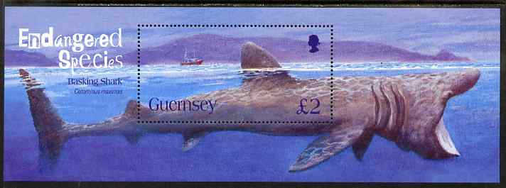 Guernsey 2005 Endangered Species (2nd issue) perf m/sheet unmounted mint, SG MS1085