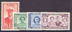 Basutoland 1947 KG6 Royal Visit set of 4, SG 32-35 unmounted mint