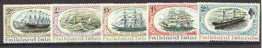 Falkland Islands 1970 SS Great Britain set of 5 unmounted mint, SG 258-62