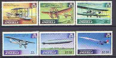 Anguilla 1979 History of Powered Flight set of 6 unmounted mint, SG 365-70