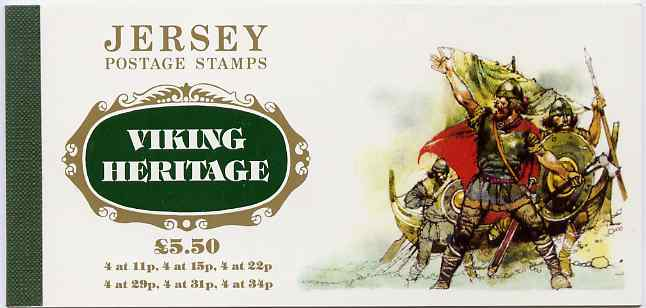 Booklet - Jersey 1987 900th Death Anniversary of William the Conqueror \A35.50 prestige booklet complete, SG B39