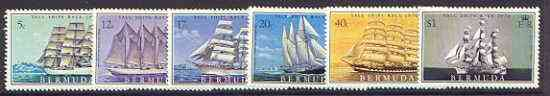 Bermuda 1976 Tall Ships Race set of 6 unmounted mint, SG 361-66*
