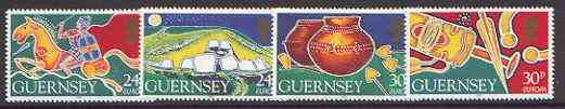 Guernsey 1994 Europa - Archaeological Discoveries set of 4 unmounted mint, SG 634-37*
